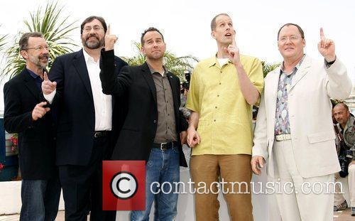 Edwin Catmull, Bob Peterson, Jonas Rivera, Pete Docter...