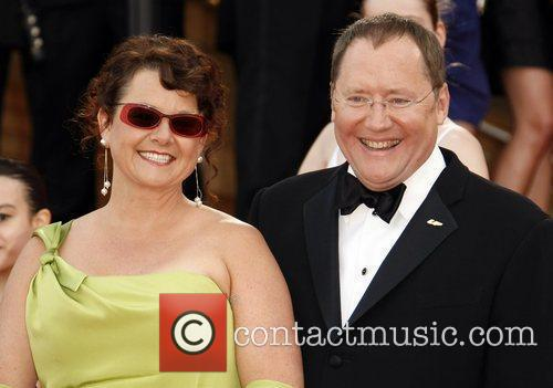 John Lasseter and his wife 2009 Cannes International...