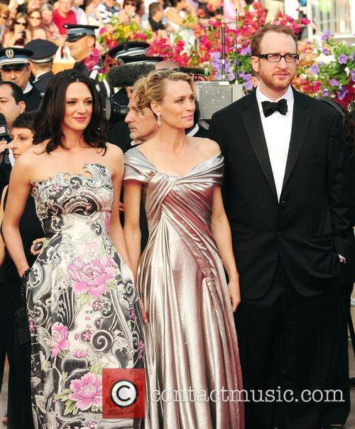 Asia Argento, Robin Wright Penn, guest 2009 Cannes...