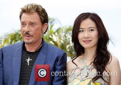 Johnny Hallyday and Michelle Ye 10
