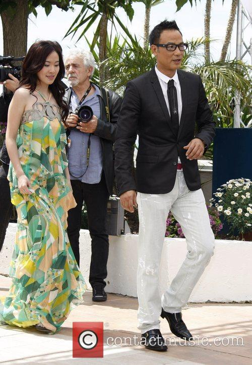 Michelle Ye and Simon Yam  2009 Cannes...