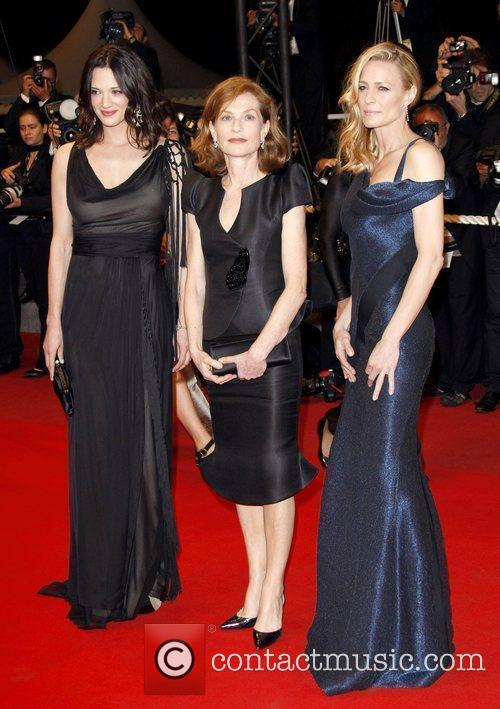 Asia Argento, Isabelle Huppert and Robin Wright Penn 6