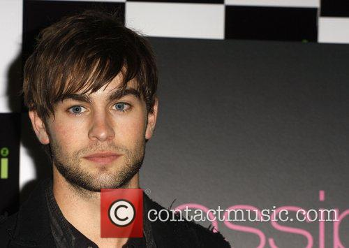 Chace Crawford signs copies of the 'Gossip Girl'...