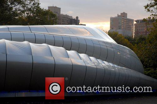 Mobile Art Chanel Contemporary Art Container Opening at...