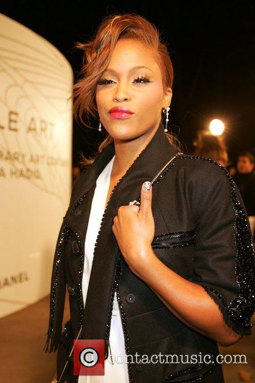 Eve (with Barack Obama nail art) Opening Party...