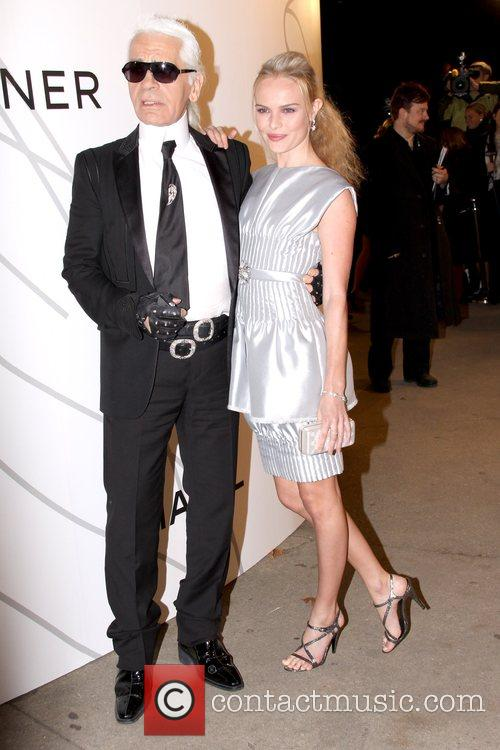 Karl Lagerfeld and Kate Bosworth 2
