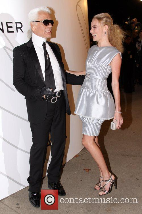 Karl Lagerfeld and Kate Bosworth 1
