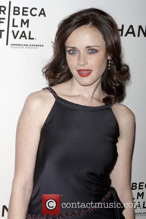 Alexis Bledel Chanel dinner party during the 8th...