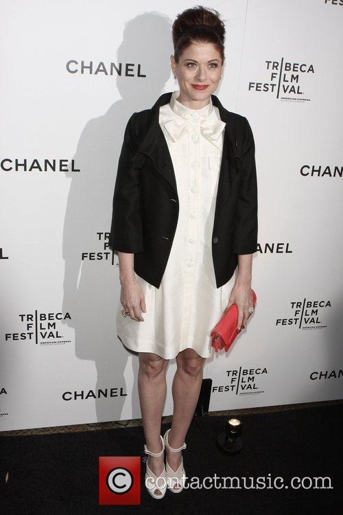 Debra Messing Chanel dinner party during the 8th...