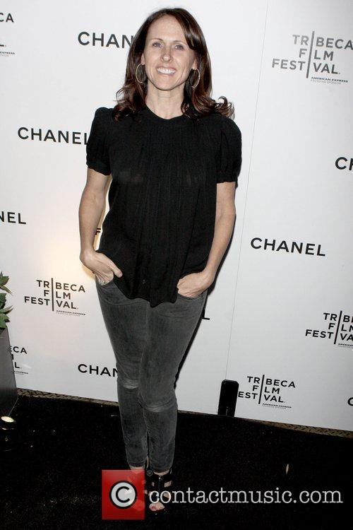 Molly Shannon Chanel dinner party during the 8th...