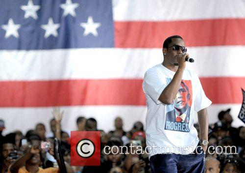 P Diddy Speaking At The Last Chance For Change Rally At Florida Memorial College 2