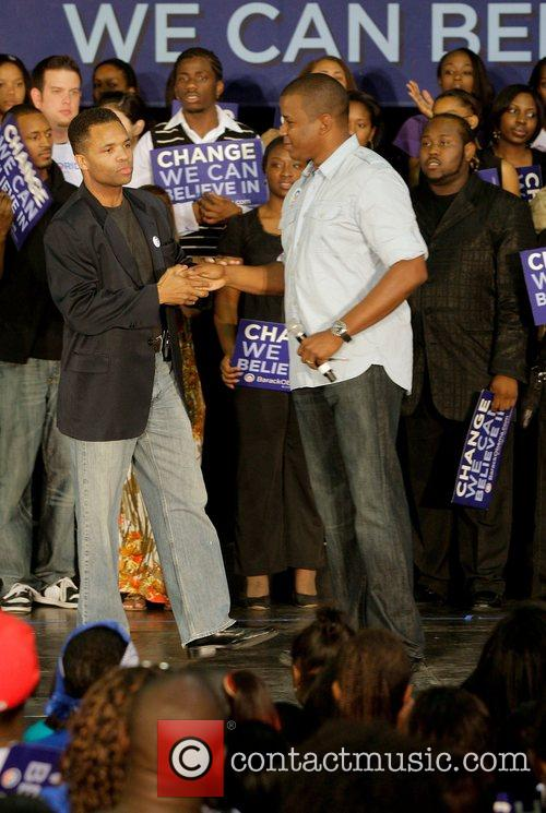 Last Chance For Change rally at Florida Memorial...