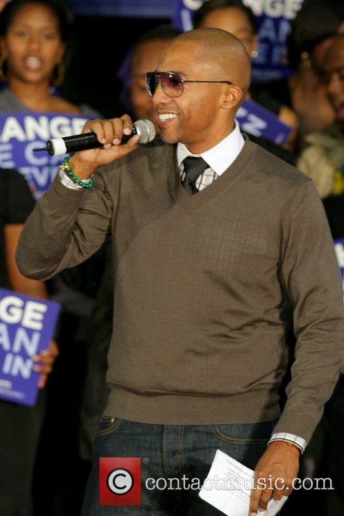 Kevin Liles Last Chance For Change rally at...