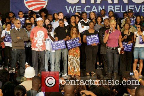 Mary J. Blige Last Chance For Change rally...