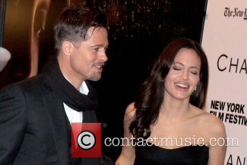 Brad Pitt and Angelina Jolie 46th New York...