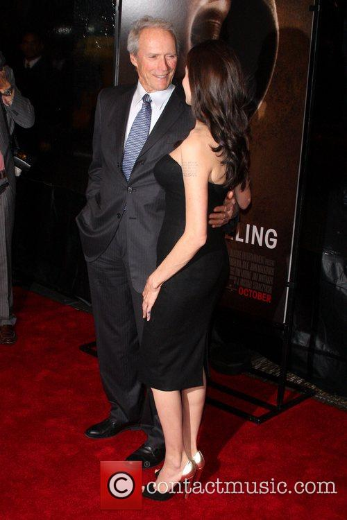 Clint Eastwood and Angelina Jolie 46th New York...
