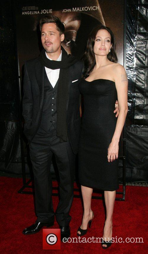Brad Pitt, Angelina Jolie 46th New York Film...
