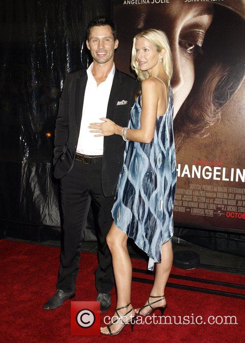 Jeffrey Donovan and guest 46th New York Film...