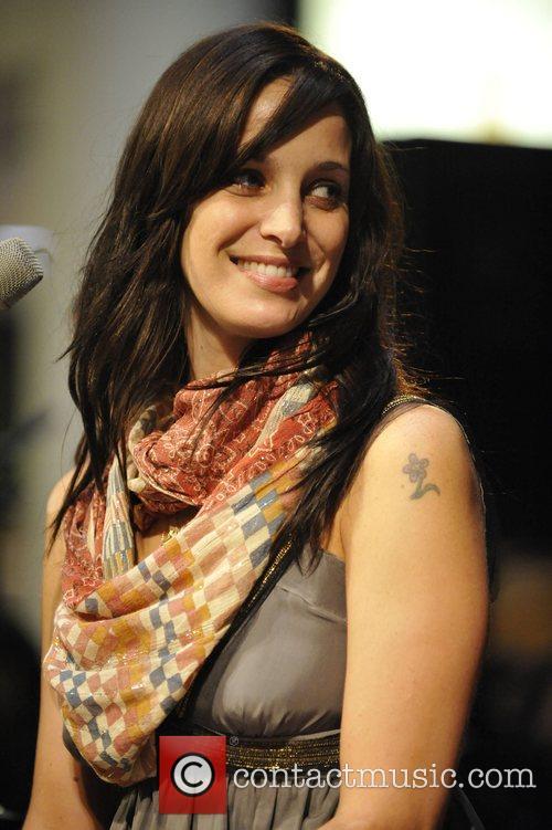 Canadian singer Chantal Kreviazuk performing live at the...