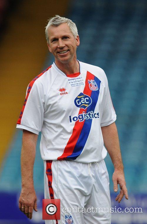 Alan Pardew Crystal Palace v Celebrity XI in...