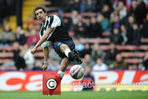 Chris Armstrong Crystal Palace v Celebrity XI in...
