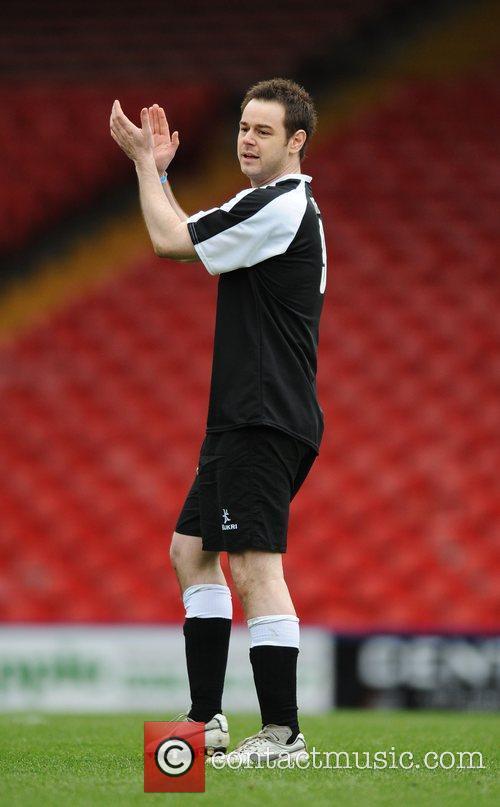 Danny Dyer Crystal Palace v Celebrity XI in...