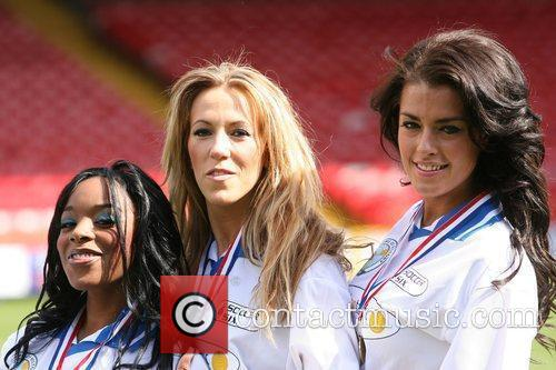 Cleopatra Crystal Palace v Celebrity XI in aid...