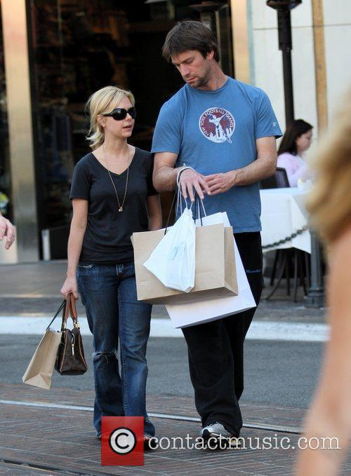 Charlie O' Connell out and about shopping with...