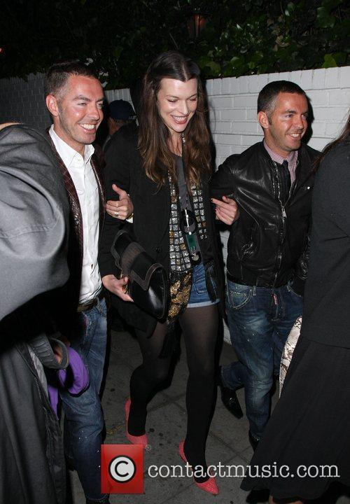 Milla Jovovich at Chateau Marmont Los Angeles, California