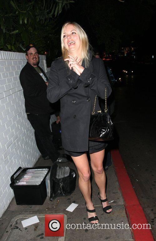 Anna Faris Leaving the Chateau Marmont hotel Los...