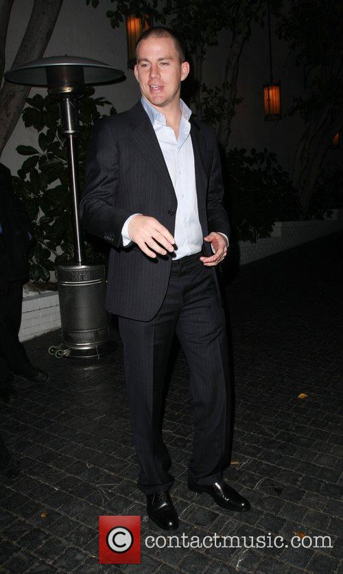 Channing Tatum Leaving the Chateau Marmont hotel Los...