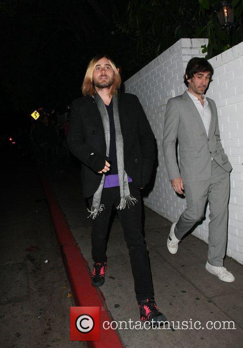 Jared Leto and friends Leaving the Chateau Marmont...