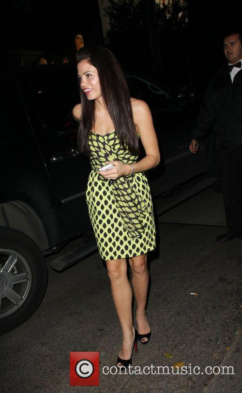 Jenna Dewon Leaving the Chateau Marmont hotel Los...