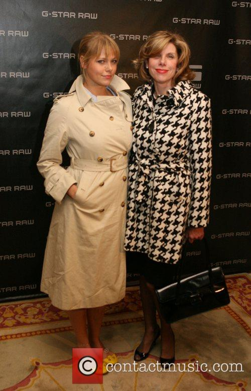 Lily Cowles, Christine Baranski Special dinner honoring CHE...