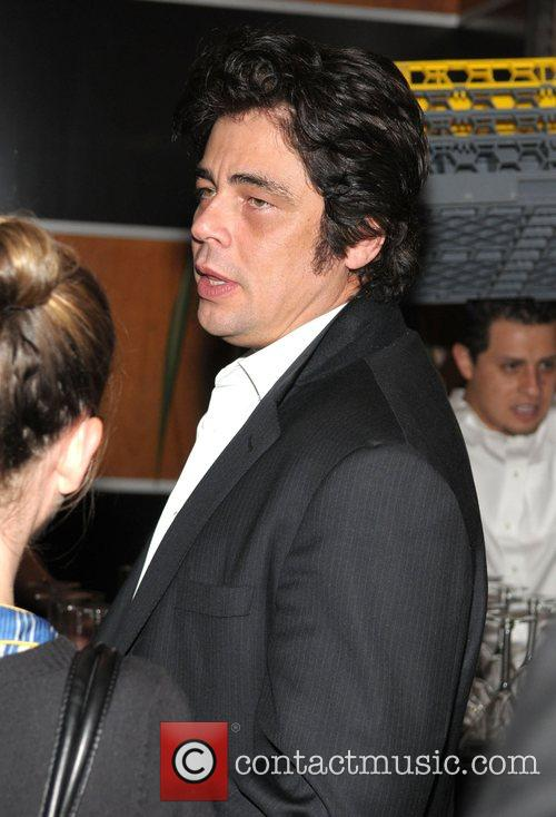 Benicio Del Toro at the after party for...