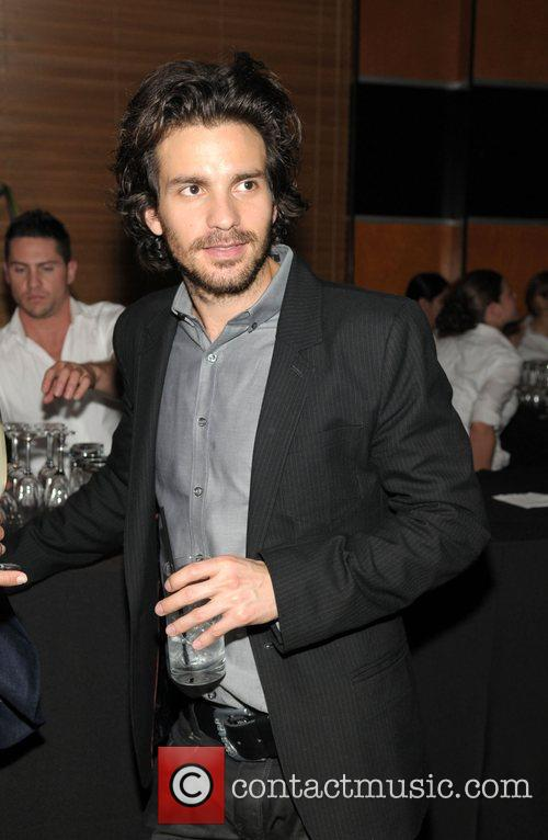 Santiago Cabrera at the after party for the...
