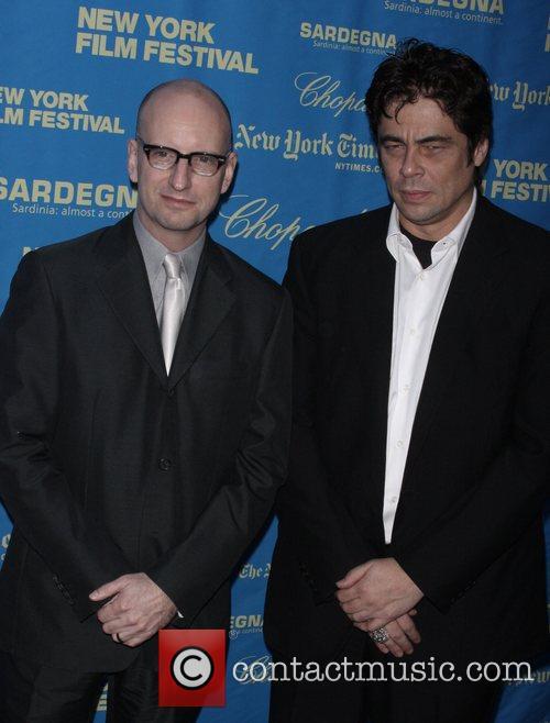 Steven Soderbergh and Benicio Del Toro 6