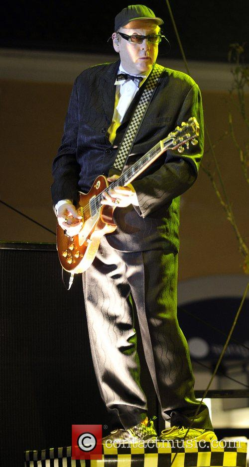 CheapTrick performs live on stage at the grand...