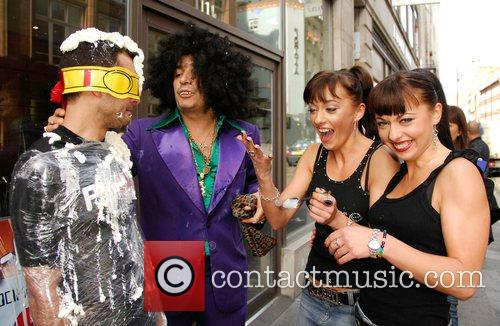 The Cheeky Girls and Eccentric billionaire Alki David...