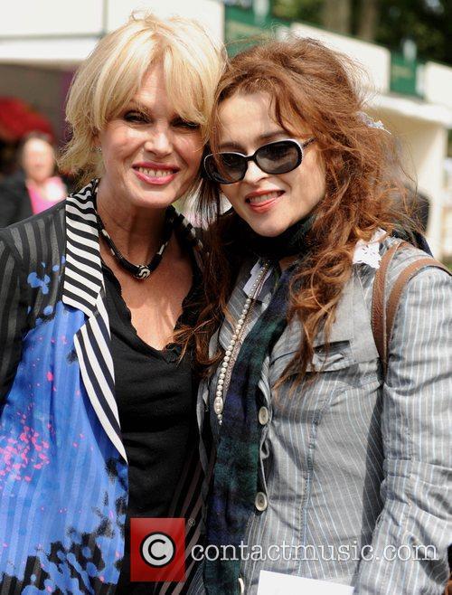 Helena Bonham Carter and Joanna Lumley 10