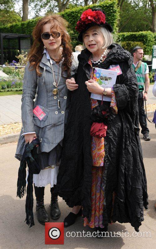 Helena Bonham Carter and Her Mother 5
