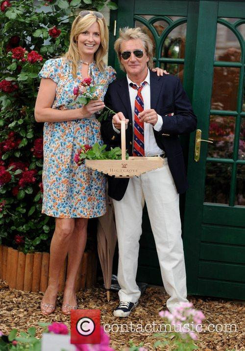 Penny Lancaster and Rod Stewart 11