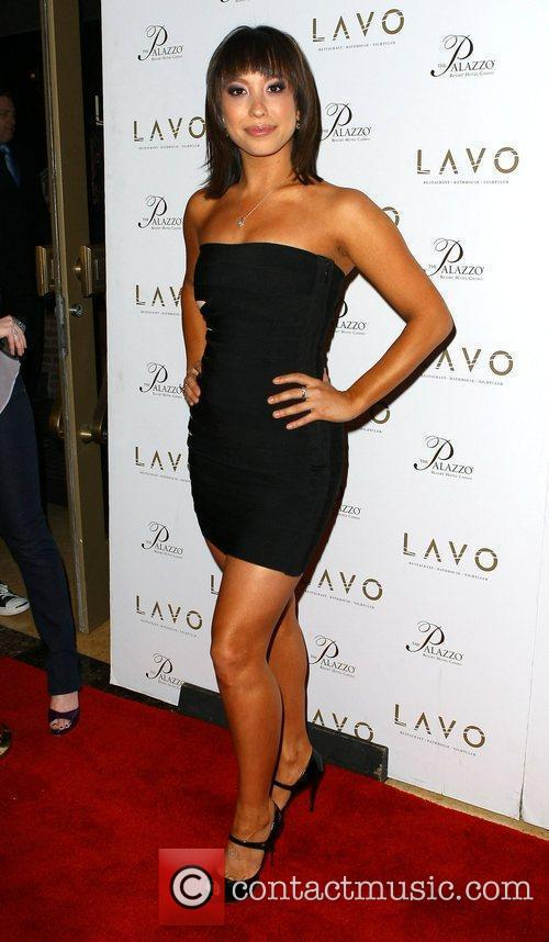 Celebrates her birthday at LAVO inside the Palazzo...