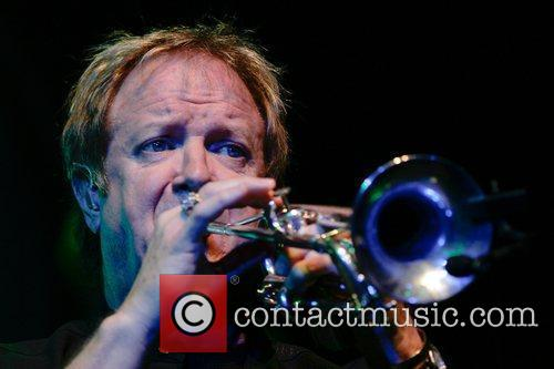 Lee Loughnane 'Chicago' performing in concert at the...