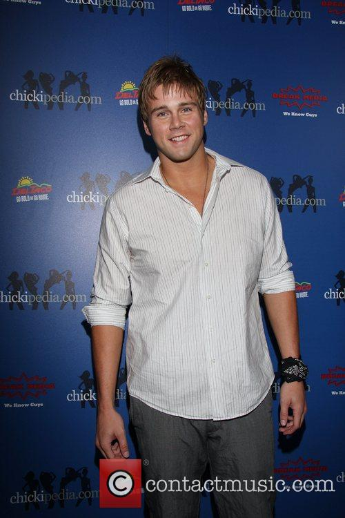 Aaron Hill Launch of Chickipedia.com by Break Media...