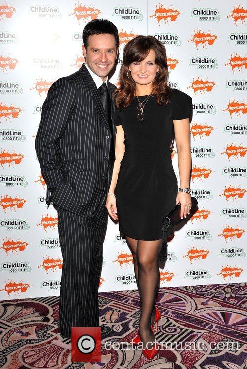 Lylia Kopylova and Darren Bennett Strictly Childline Ball...