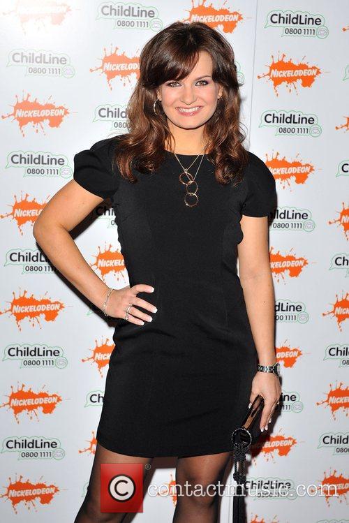 Lylia Kopylova Strictly Childline Ball held at the...