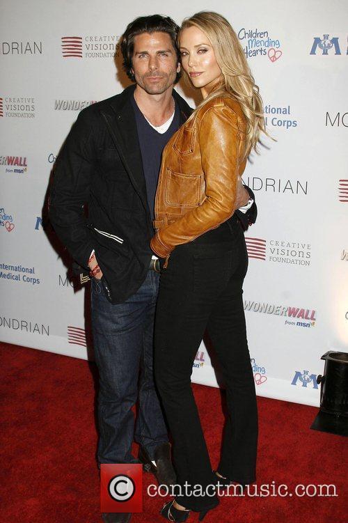 Greg Lauren and Elizabeth Berkley 2