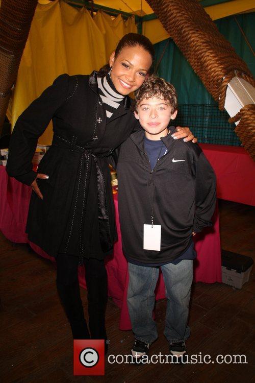 Christina Milian and Ryan Ochoa Children Uniting Nations...