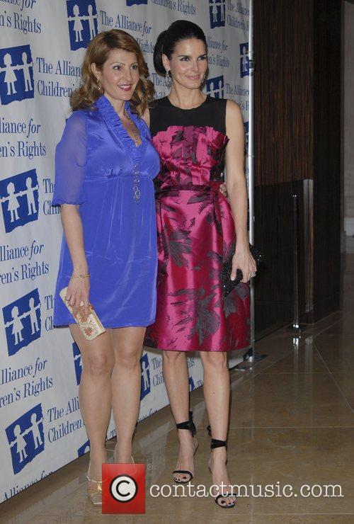 Nia Vardalos and Angie Harmon The Alliance for...